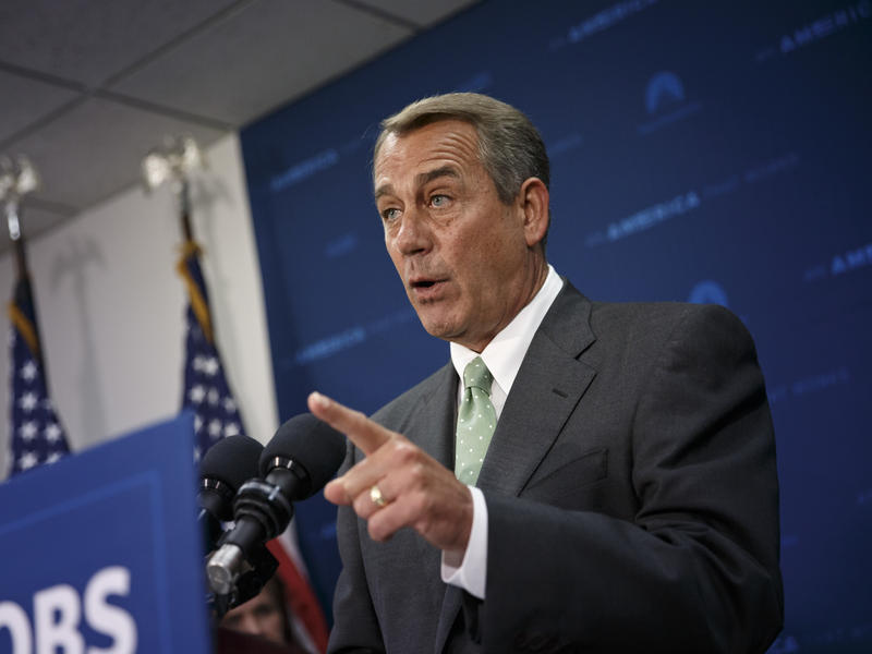 John Boehner sharply criticized Donald Trump's presidency this week, and said he doesn't think the Affordable Care Act will be repealed and replaced.