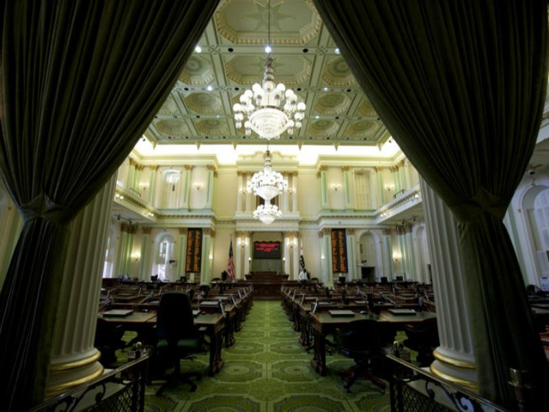 Assembly Chamber Curtains -P