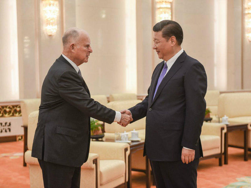 Xi Jin Ping And Brown _060617P