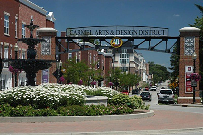 Carmel and other Indianapolis suburbs were the fastest-growing cities in Indiana last year. (Courtesy City of Carmel)