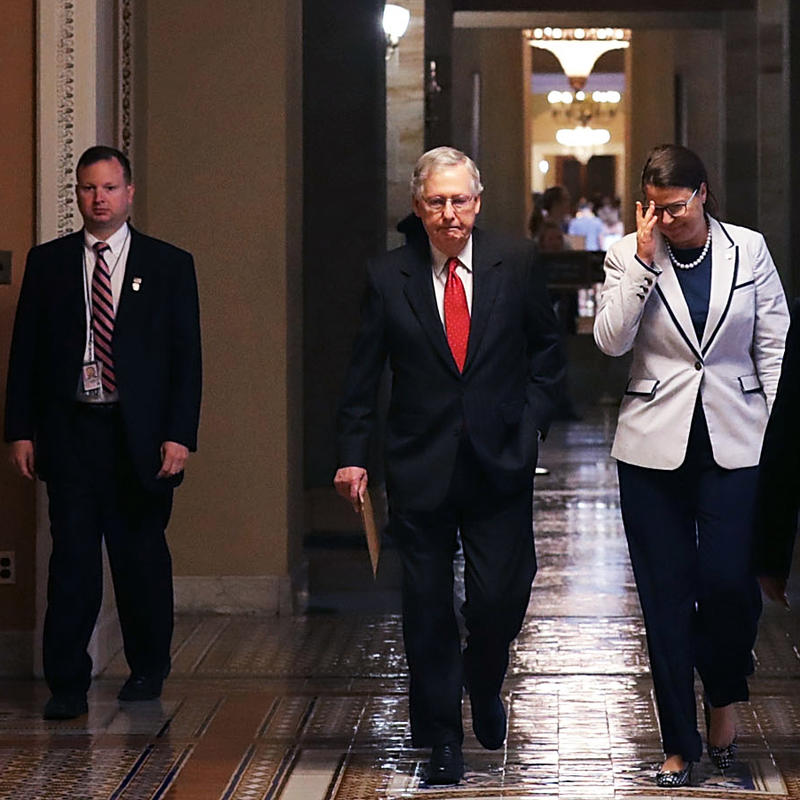 Senate Majority Leader Mitch McConnell and Republican lawmakers are hashing out potential health care plans, though a repeal-only and a repeal-and-replace option have failed in the last two days.