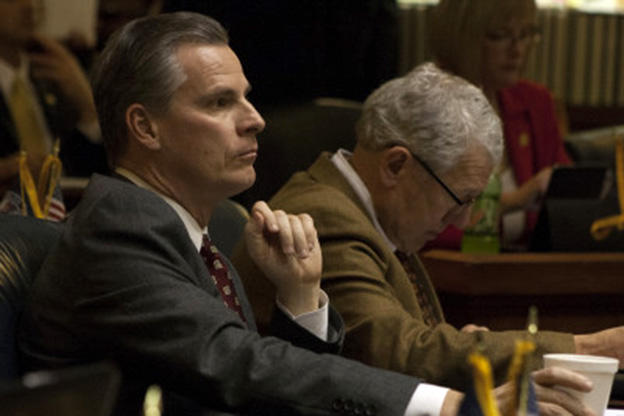 Workforce Development Commissioner Steve Braun during a 2014 session of the Indiana House, when he was a state representative for Zionsville. (Indiana House GOP)