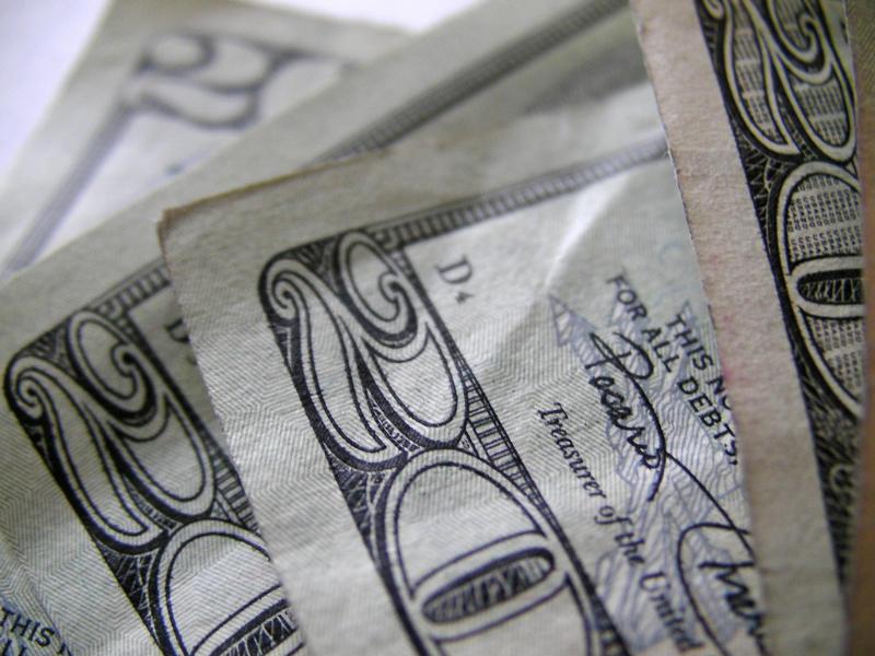 Money Twenties 20s Dollars -P