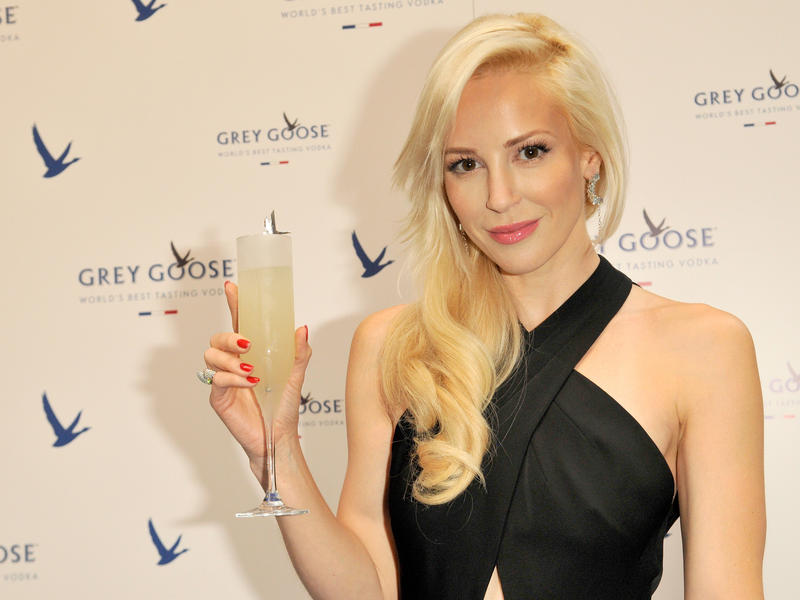 With her Instagram response, Louise Linton, at a 2014 Grey Goose promotional event in Scotland, has opened the door for a discussion on a progressive tax system.