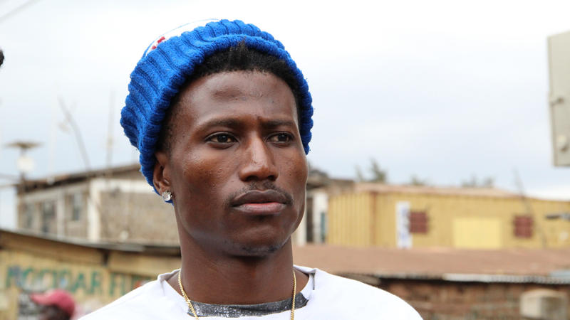 <p>Kenyan rapper Octopizzo grew up in the Kibera slum and still has a house there. He has been speaking out against police violence he witnessed against protesters who congregated in the slum the day after the results of Kenya's election were announced.</