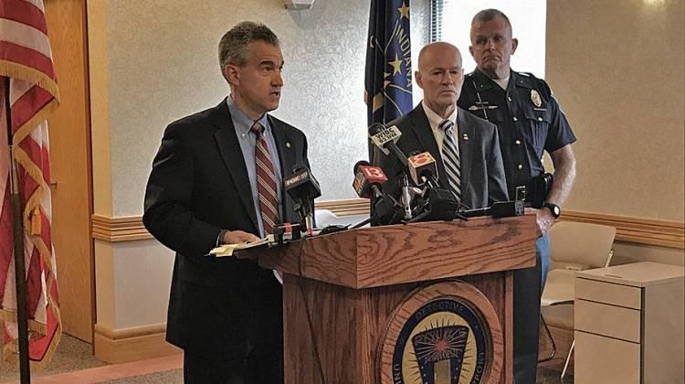"U.S. Attorney Josh Minkler says the suspect used what is known as ""sextortion"" – getting sexually explicit images from a victim through threats of violence."
