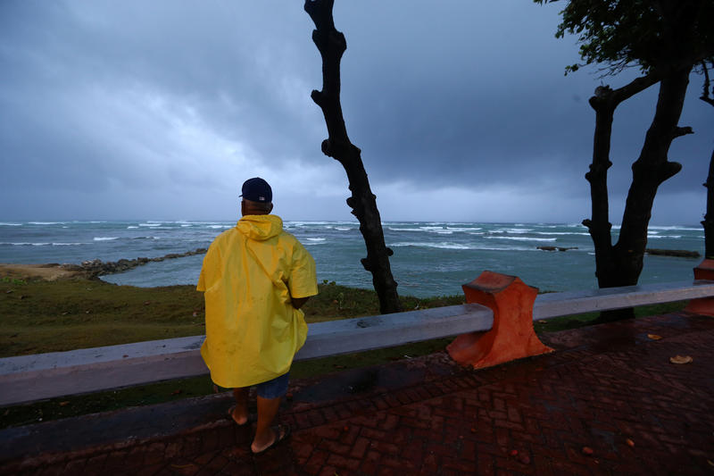 <p>Hurricane Irma has movedaway from the northern coast ofPuerto Plata, Dominican Republic.</p>