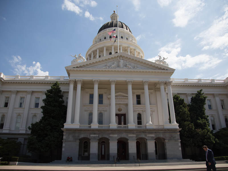The California State Capitol on September 12, 2017.