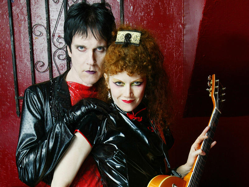 Lux Interior and Poison Ivy, founding members of The Cramps, whose music reignited the sound of 1950s and early 1960s rock 'n' roll.