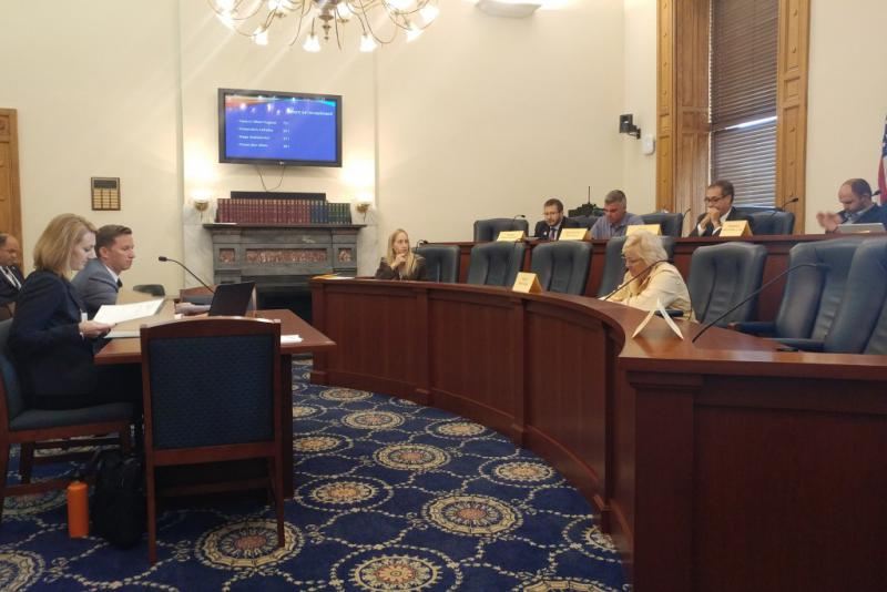 Lawmakers weren't happy at what they felt was missing Tuesday from an update on Indiana's unemployment insurance program. (Annie Ropeik/IPB News)