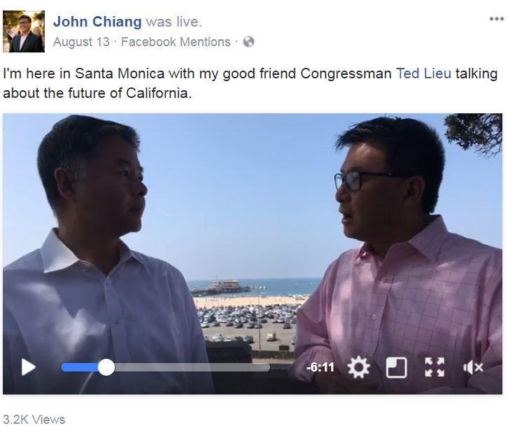 Chiang FB Live 1