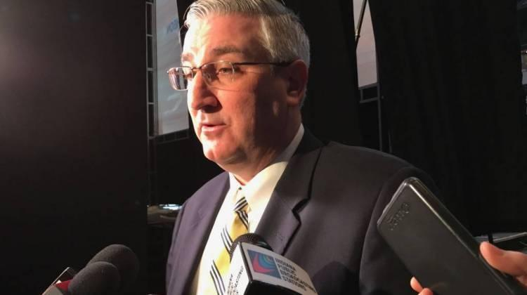Gov. Eric Holcomb, with recommendations from a state board, considered 21 applications from ex-offenders looking for a pardon.