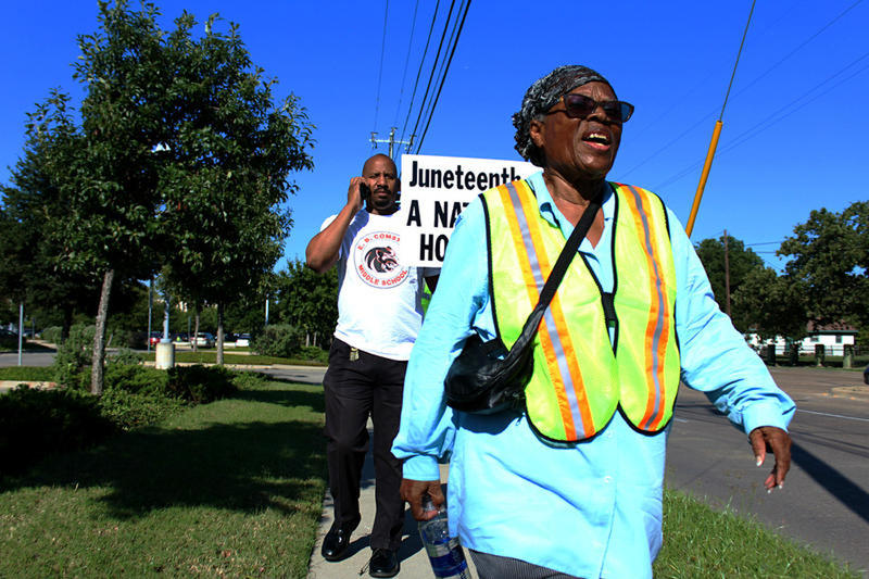 This 89-Year-Old Is Walking To Make Juneteenth A National Holiday