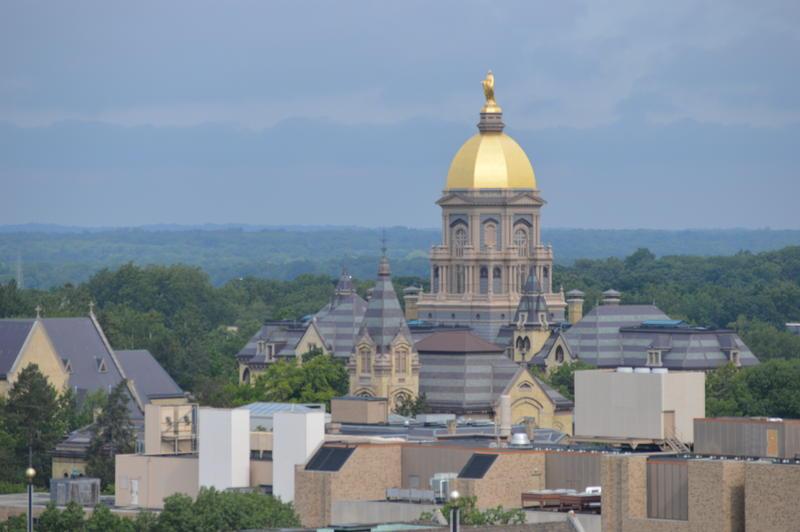 Notre Dames golden dome