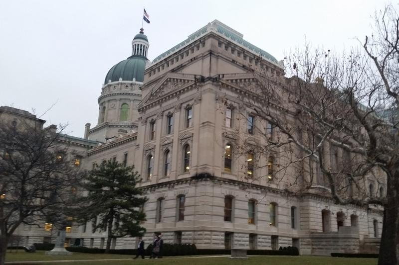 The House Public Policy Committee heard close to an hour of testimony on the Sunday alcohol sales bill. (Lauren Chapman/IPB News)