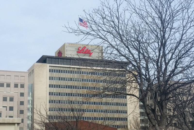 Eli Lilly Corporate Headquarters in Indianapolis (Lauren Chapman/IPB News)