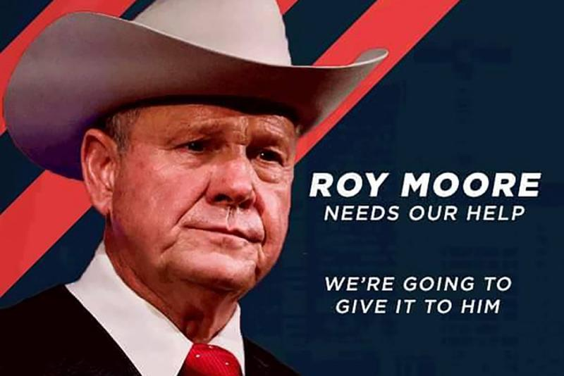 Indiana First announced on Nov. 22 their support for Roy Moore on their Facebook page. (Indiana First PAC/Facebook)