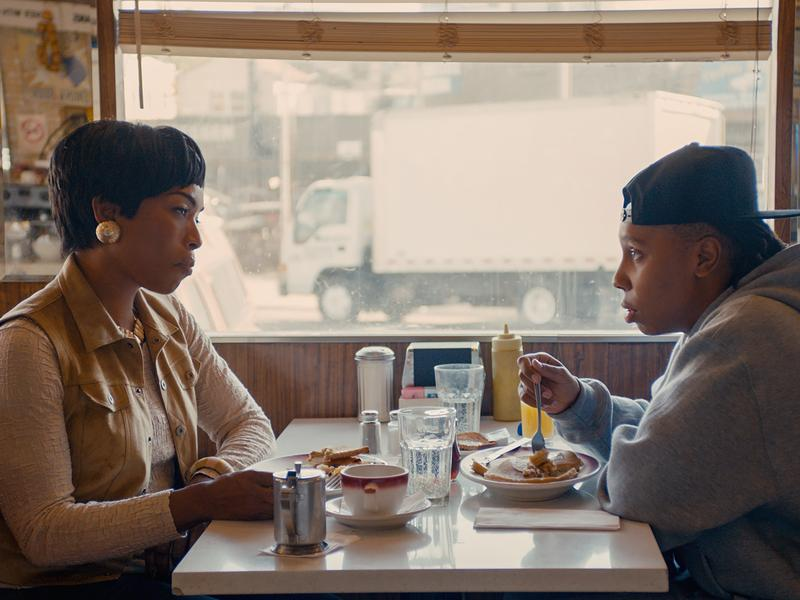 Lena Waithe's character, Denise, comes out to her mother (played by Angela Bassett) in the