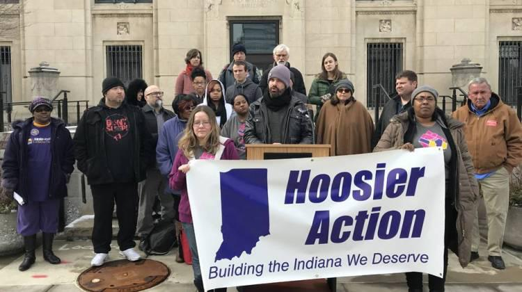 Jesse Myerson, outreach director for Hoosier Action, says a new bill meant to combat drug dealers won't have a positive effect on the state's opioid crisis.