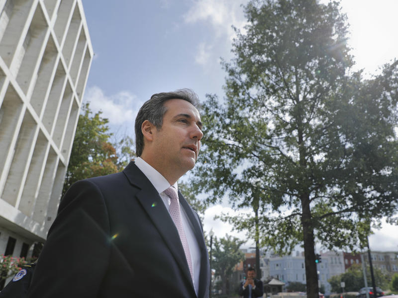 Michael Cohen, President Trump's personal attorney, says he paid $130,000 to adult film star.