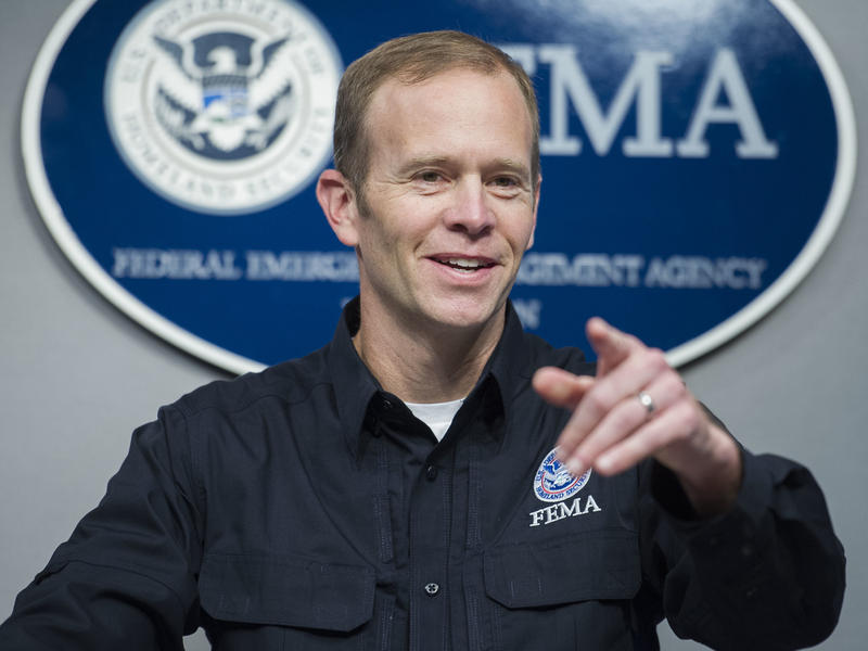 Federal Emergency Management Agency Administrator Brock Long.