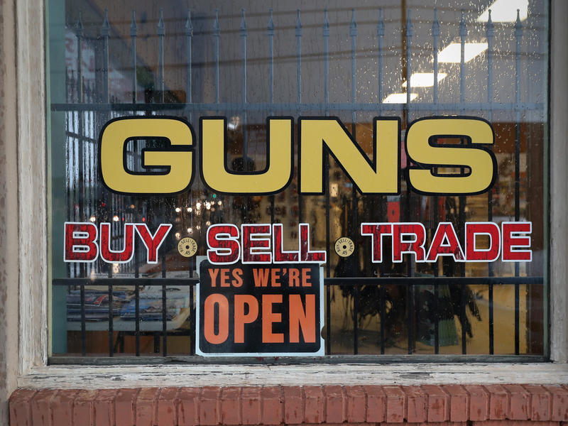 Current federal law only requires background checks for gun purchases from licensed gun dealers, but gun control advocates want to extend the law to include private gun sales, too.