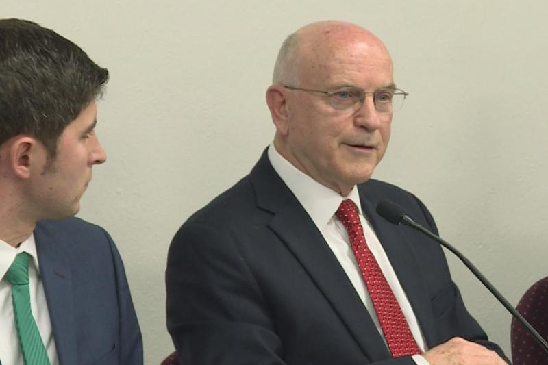 Sen. Dennis Kruse authored the original SB 65, about sex education in schools. (Zach Herndon/WTIU)