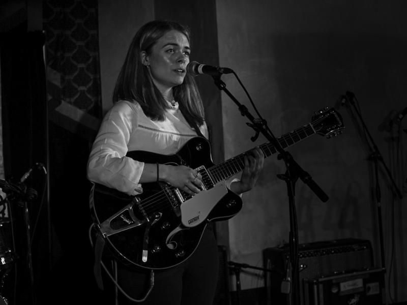 Chloe Foy performs at The Driskill.