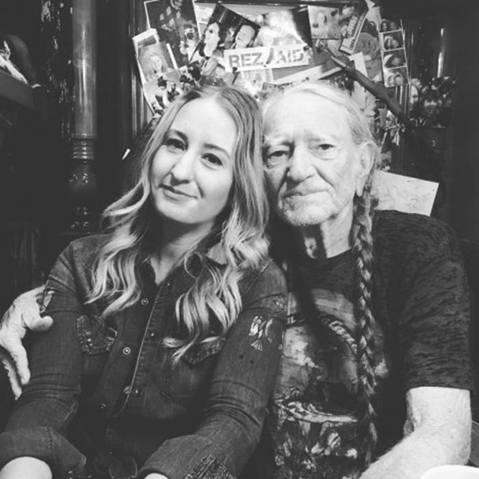 Margo Price and Willie Nelson