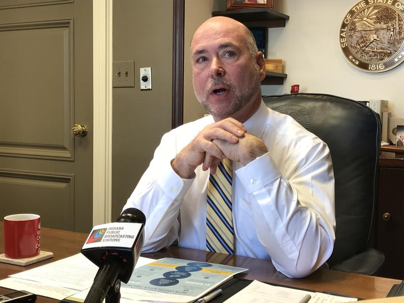 House Speaker Brian Bosma (R-Indianapolis) says he's confident legislators will only need one day of special session to conclude their work. (Brandon Smith/IPB News)