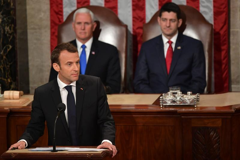 French President Macron Caps Off State Visit; Mounting Questions About VA Nominee