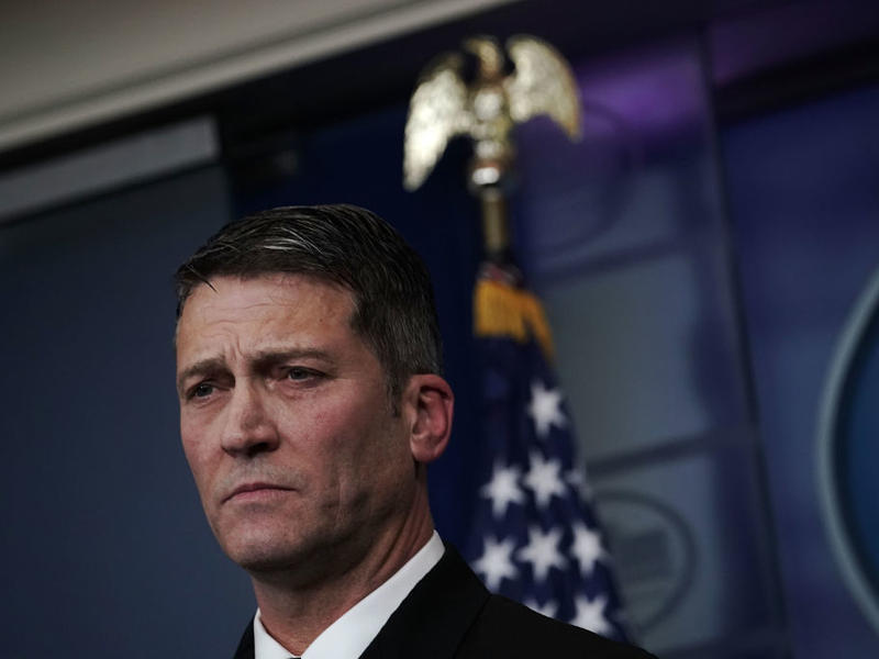 Rear Adm. Ronny Jackson, the White House physician, has withdrawn his nomination to be the next secretary of the Department of Veterans Affairs.