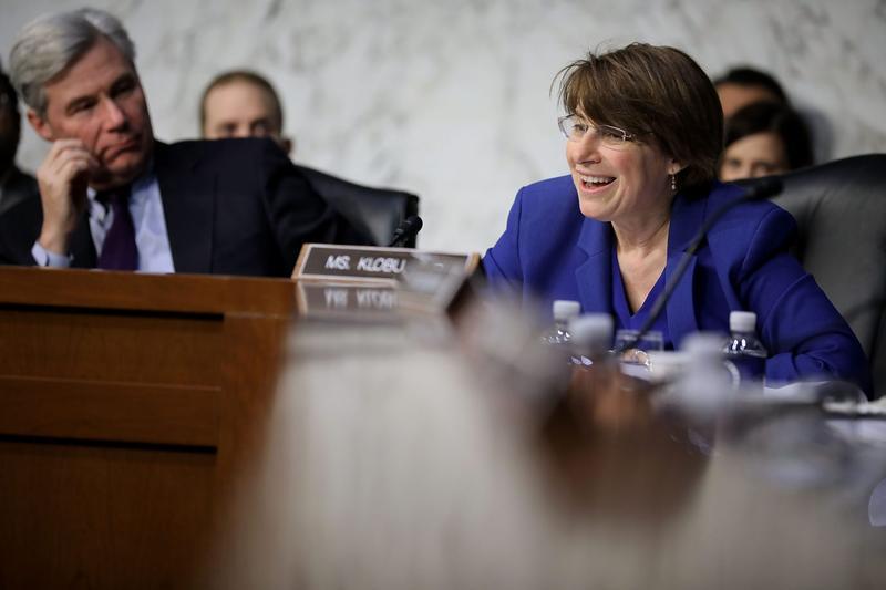 No, Babies Won't Have To Meet The Senate's Dress Code, Sen. Klobuchar Says