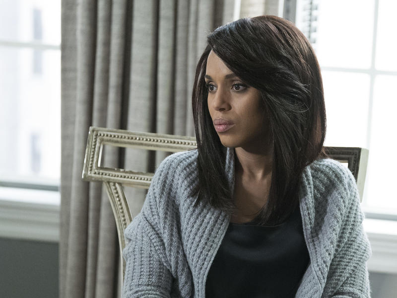 Kerry Washington as Olivia Pope on Scandal, which aired its series finale Thursday night.