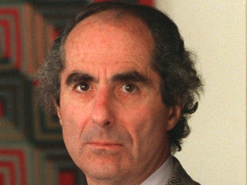 Author Philip Roth is shown in this July 1990 photo.