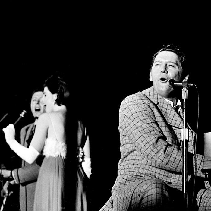 Jerry Lee and Linda Gail Lewis