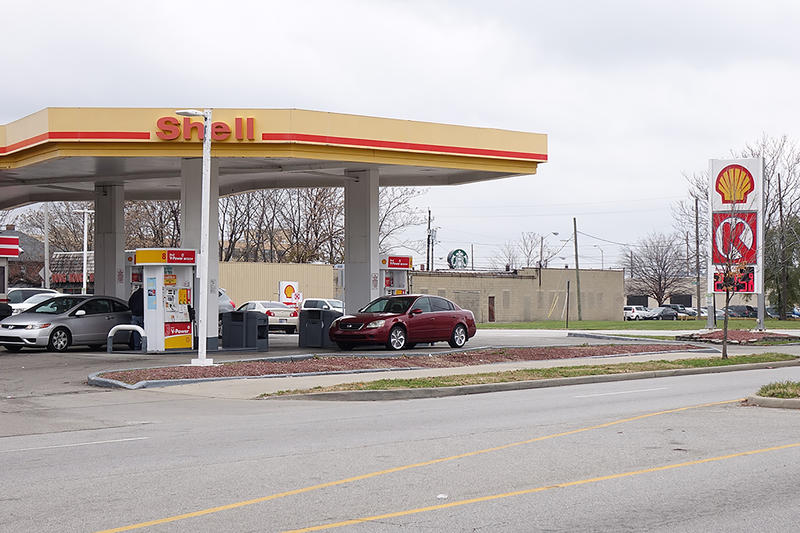 Indiana's gas tax is set to increase again this year – it's a small hike after last year's 10 cent surge. (Lauren Chapman/IPB News)