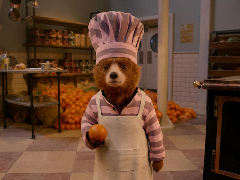 Wee Ol' Teddy, Marmalade: Ben Whishaw voices the perpetually well-meaning bear in Paddington 2.