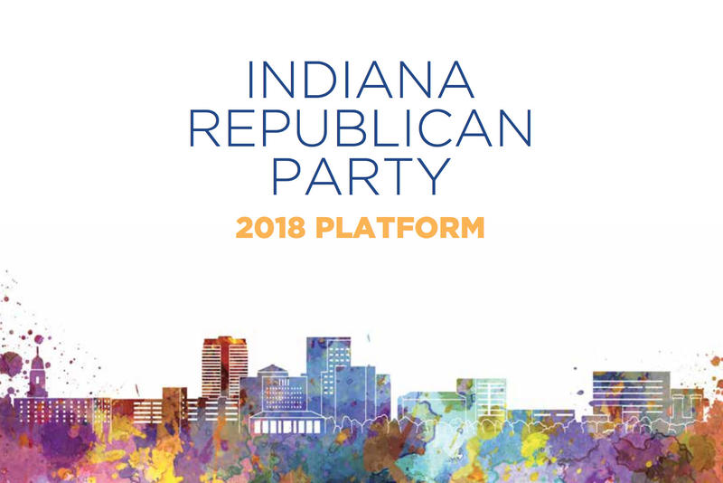 Indiana Republican Party Chair Kyle Hupfer says delegates at this weekend's convention will vote to choose between two versions of the state party's platform. (Indiana GOP)