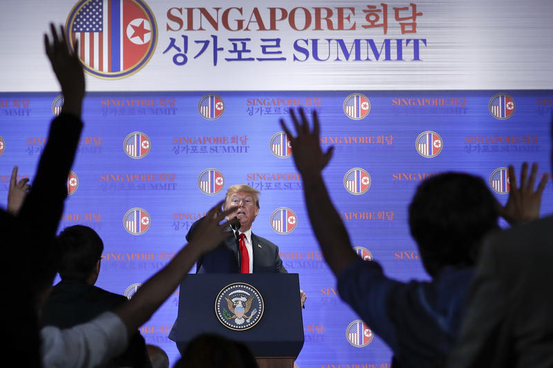 Week In The News: History In North Korea, IG Report, New York AG Sues Trump & Family