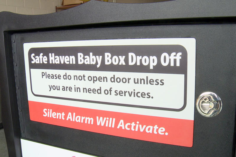 The baby box will be installed in Indianapolis before July 1. (Devin Braegar/WFYI News)
