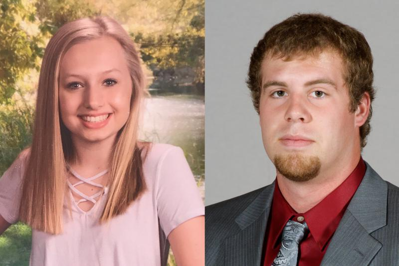 Ella Whistler, left, and Jason Seaman were injured in the Noblesville West Middle School shooting (Provided by Whistler family and Southern Illinois University)