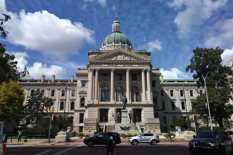 Rep. Ron Bacon sponsored a bill approved by the general assembly earlier this year, to require heat-illness training for school coaches across the state. (Lauren Chapman/IPB News)