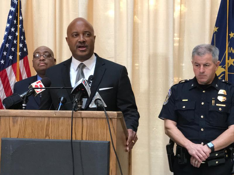 A growing number of voices are calling for Attorney General Curtis Hill to resign after sexual misconduct allegations surfaced against the Republican state official. (Brandon Smith/IPB News)