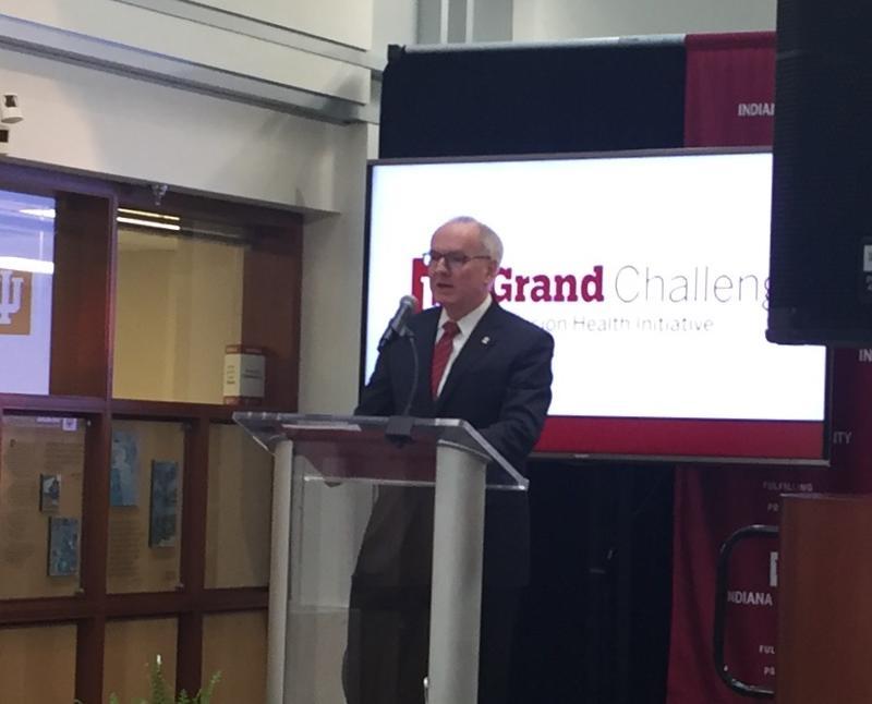 Dr. Jay Hess is the Indiana University School of Medicine dean. (Jill Sheridan/IPB News)