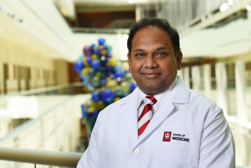 Chandan Sen, PhD, will serve as the inaugural director of the Indiana Center for Regenerative Medicine and Engineering effective Aug. 15. (Photo courtesy of Indiana University School of Medicine)