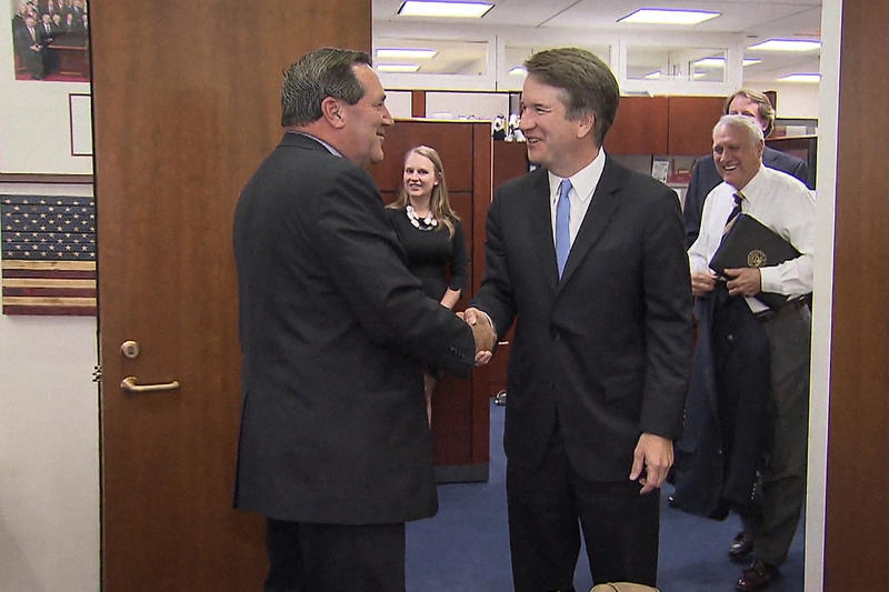 Sen. Joe Donnelly (D-Ind.) says he'll continue to review Kavanaugh's record and watch his confirmation hearing before he decides whether to back him. (Photo courtesy of Sen. Joe Donnelly's office)