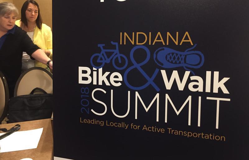 Indiana Bike and Walk Summit was held in Indianapolis. (Jill Sheridan/IPB News)