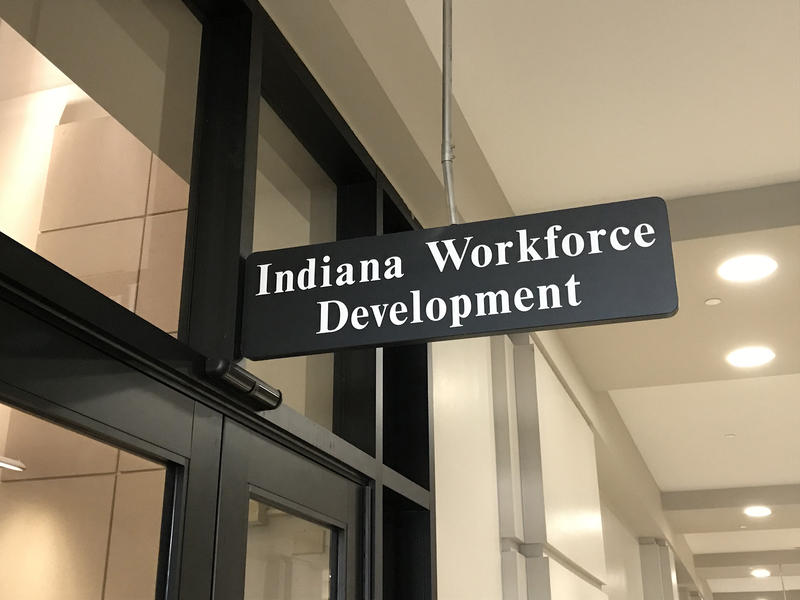 Indiana's unemployment rate is the highest it's been in nearly a year at 3.5 percent. (Brandon Smith/IPB News)