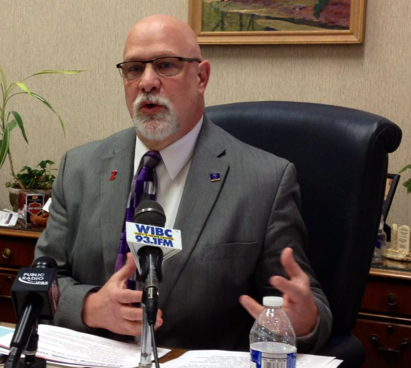 Rep. Tim Brown (R-Crawfordsville) was in a serious motorcycle accident in northern Michigan. (Brandon Smith/IPB News)